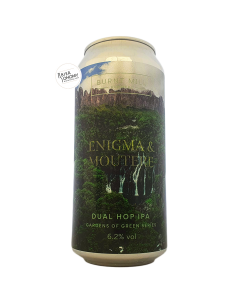Bière Gardens of Green Enigma & Moutere NEIPA 44 cl Brasserie Burnt Mill