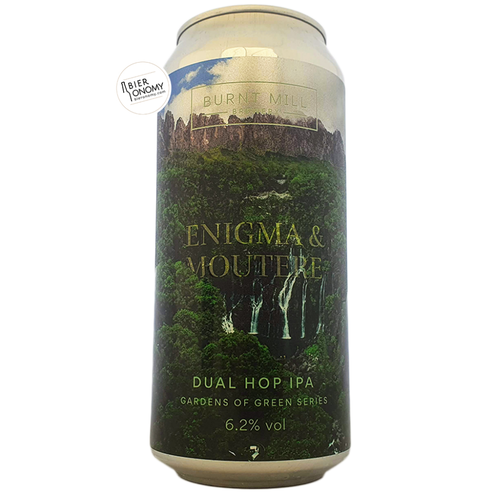 Bière Gardens of Green Enigma & Moutere NEIPA 44 cl Brasserie Burnt Mill