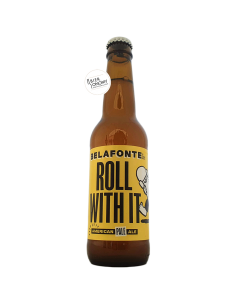 Bière Roll With It American Pale Ale 33 cl Brasserie Belafonte