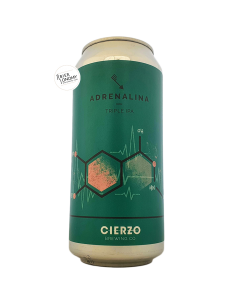 Bière Adrenalina Triple IPA 44 cl Brasserie Cierzo