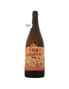 Bière IDA La Grisette (Batch 2) 75 cl Brasserie Dunham x Isle De Garde