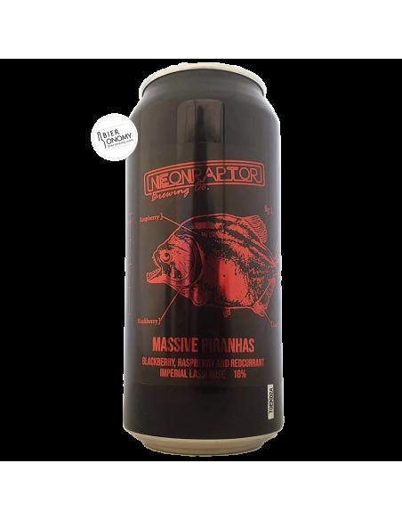 Bière Massive Piranhas Imperial Lassi Gose 44 cl Brasserie Neon Raptor