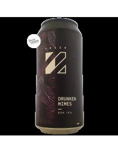 Bière Drunken Mimes DDH IPA 44 cl Brasserie PRIZM