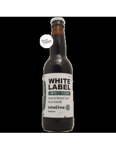 Bière White Label Imperial Russian Stout Belize Rum BA 2019 Nr. 3 33 cl Brasserie Emelisse
