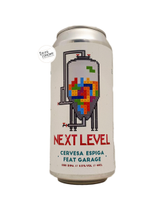 Bière Next Level DDH DIPA 44 cl Brasserie Espiga Garage