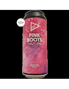 Bière Pink Boots Hazy IPA 50 cl Brasserie Funky Fluid