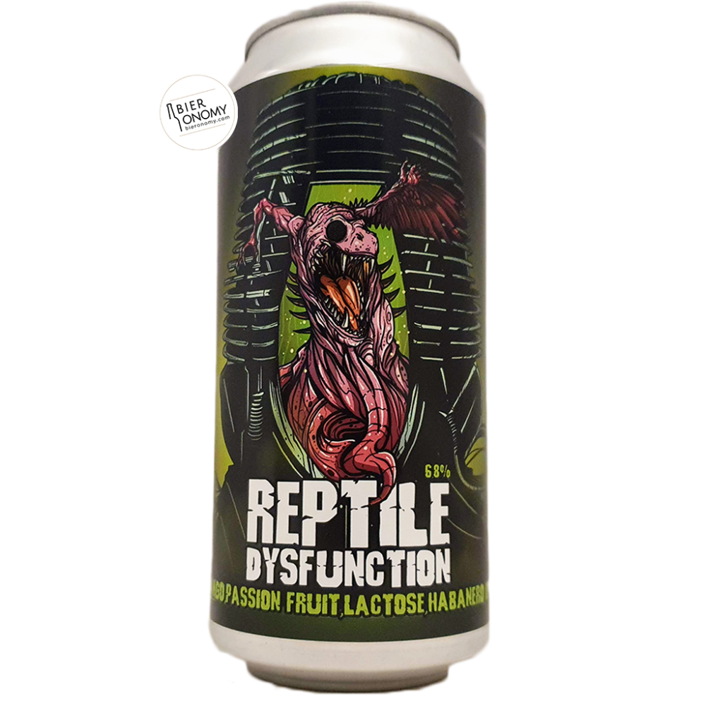 BièreReptile Dysfunction Smoothie IPA 44 cl Brasserie Staggeringly Good