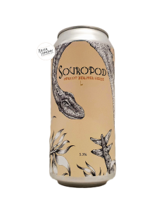 Bière Souropod Apricot Berliner Weisse 44 cl Brasserie Staggeringly Good