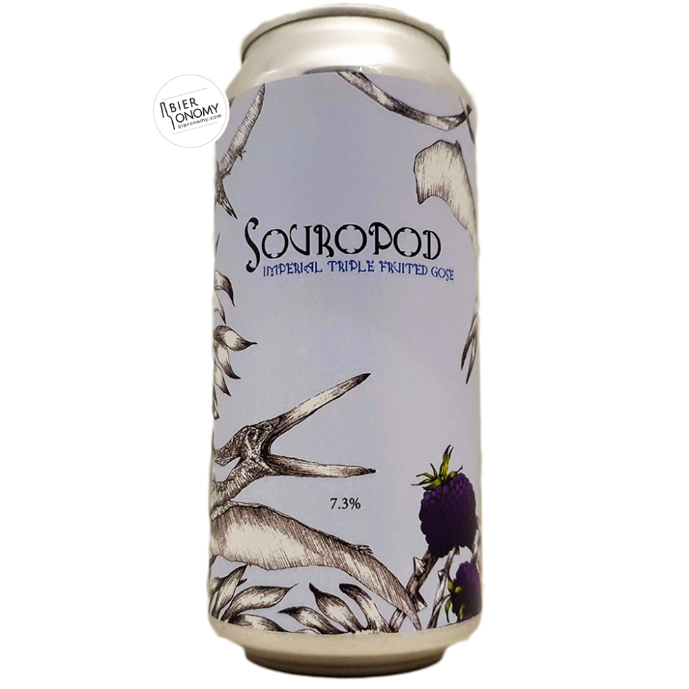 Bière Souropod Imperial Triple Fruited Gose 44 cl Brasserie Staggeringly Good