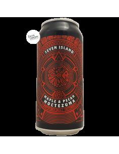 Bière Moctezuma Maple & Pecan Imperial Stout 44 cl Brasserie Seven Island