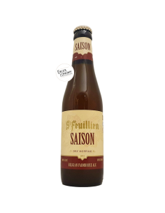 Bière Saison 33 cl Brasserie St-Feuillien