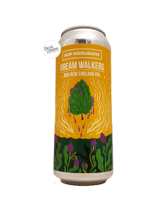 Bière Dream Walkers DDH New England IPA 50 cl Brasserie Hop Hooligans