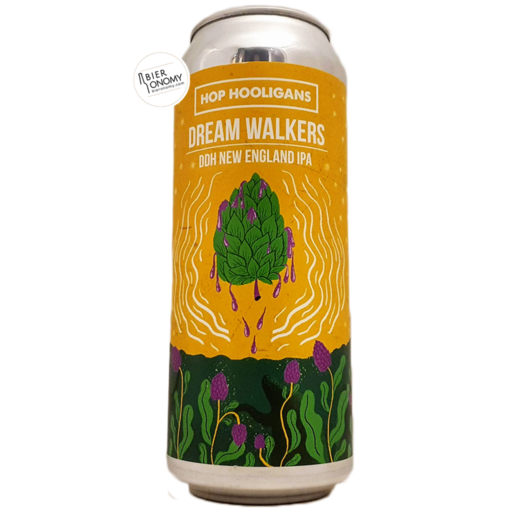 Bière Dream Walkers DDH New England IPA 50 cl Brasserie Hop Hooligans