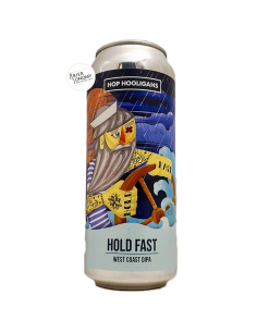 Bière Hold Fast West Coast DIPA 50 cl Brasserie Hop Hooligans