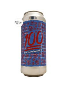 Bière 100 (TDH W Citra) Double IPA 47 cl Brasserie Burley Oak