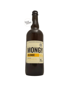 Bière Mongy Blonde 75 cl Brasserie Cambier