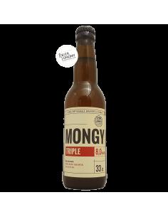 Bière Mongy Triple 33 cl Brasserie Cambier
