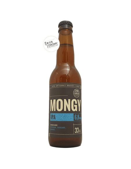 Bière Mongy IPA 33 cl Brasserie Cambier