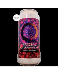 Bière Fractal Motueka/Galaxy IPA 47 cl Brasserie Equilibrium Brewery