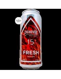 Bière Fresh 15 Hazy IPA 50 cl Brasserie Zichovec