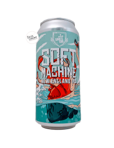 Bière Soft Machine New England IPA 44 cl Brasserie Sainte Cru