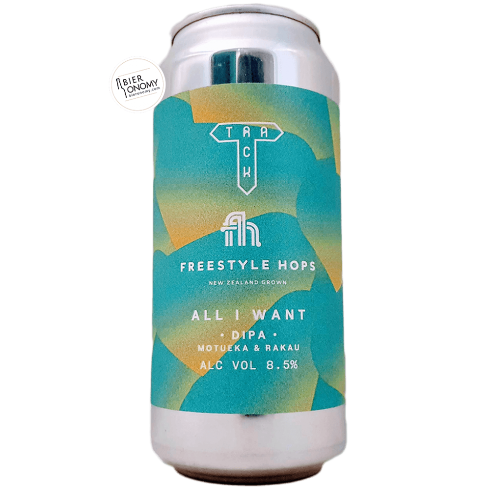Bière All I Want DIPA 44 cl Brasserie Track