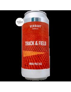 Bière Track & Field New England IPA 44 cl Brasserie Verdant