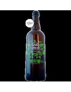 Bière Nation'Ale Hop Harvest 2020 75 cl Brasserie Cambier