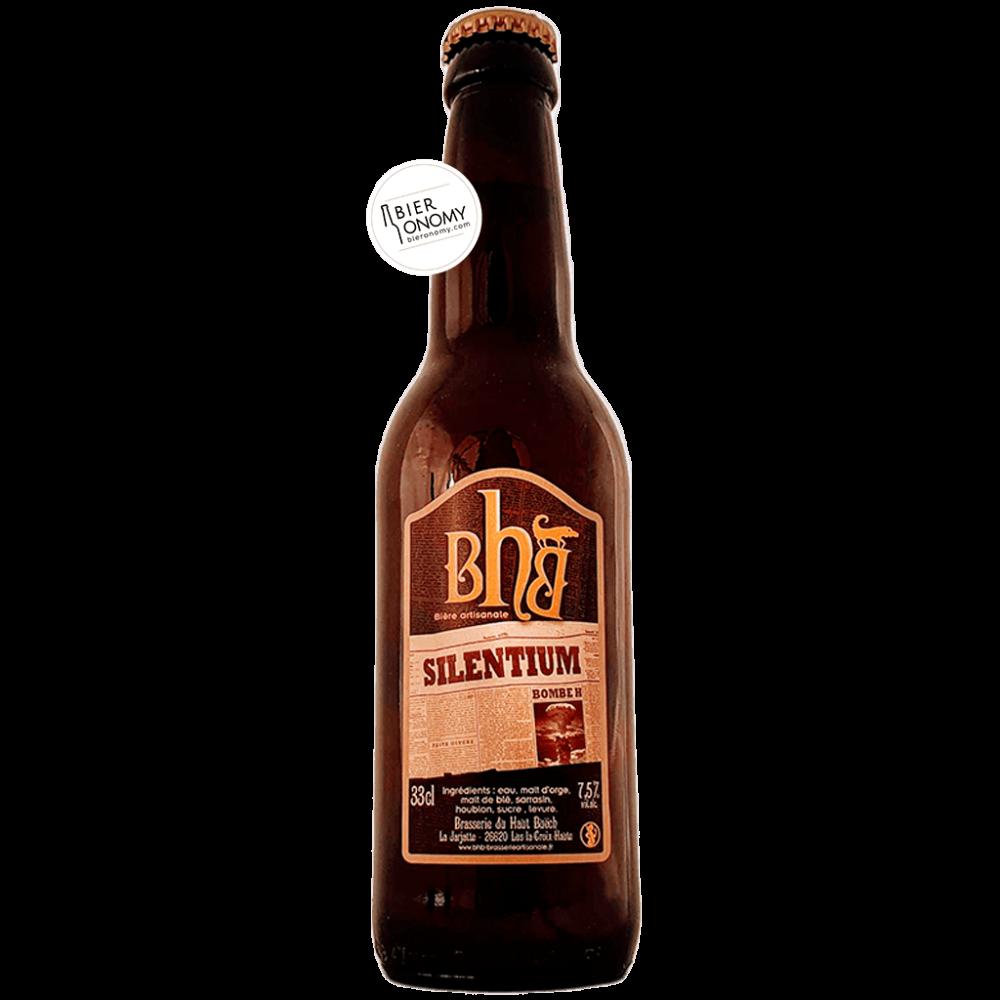 Bière Silentium 33 cl BHB Brasserie du Haut Buëch