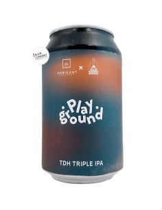 Bière Playground TDH Triple IPA 33 cl Brasserie Horizont x Mad Scientist