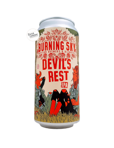 Bière Devil's Rest IPA 44 cl Brasserie Burning Sky
