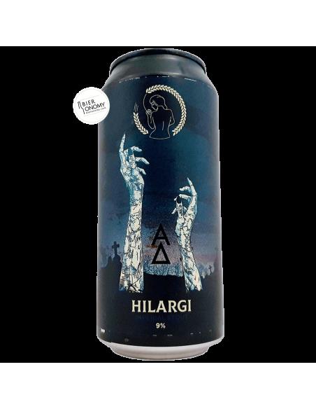 Bière HILARGI Imperial Stout 44 cl Brasserie La Superbe x Alpha Delta