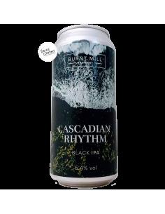 Bière Cascadian Rhythm Black IPA 44 cl Brasserie Burnt Mill
