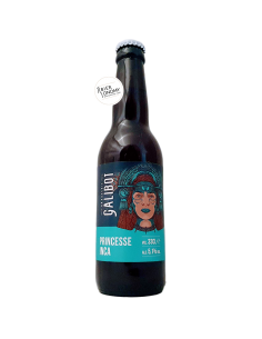 Bière Princesse Inca India Pale Lager 33 cl Brasserie Galibot