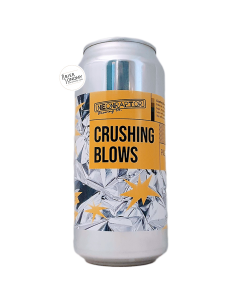Bière Crushing Blows New England Pale Ale 44 cl Brasserie Neon Raptor Brewing