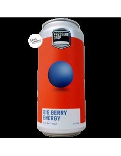 Bière Big Berry Energy Sour 44 cl Brasserie Pressure Drop Brewing