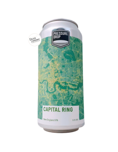 Bière Capital Ring New England IPA 44 cl Brasserie Pressure Drop Brewing