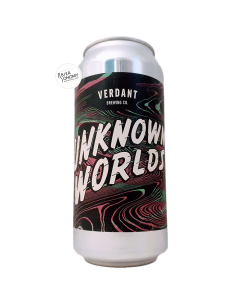 Bière Unknown Worlds Pale Ale 44 cl Brasserie Verdant Brewing