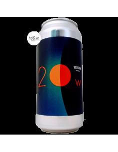 Bière 20 Watt Moon IPA 44 cl Brasserie Verdant Brewing