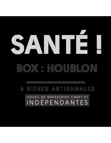 Box Assortiment Bieronomy Houblon 6 bières artisanales