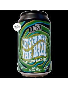 Bière Let's Groove the Haze Sabro Sabro Cryo Pale Ale 33 cl Brasserie La Muette