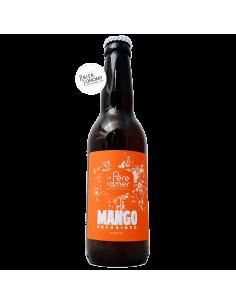 Bière Mango Unchained 2020 IPA 33 cl Brasserie Le Père L'Amer