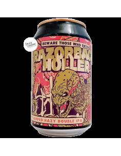 Bière Razorback Holler Double NEIPA 33 cl Brasserie Cervisiam