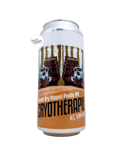 Bière Cryotherapie DDH Double IPA 44 cl Brasserie du Grand Paris
