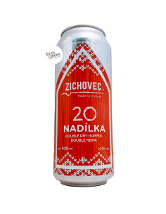 Bière Nadilka 20 2020 DDH Double NEIPA 50 cl Brasserie Zichovec