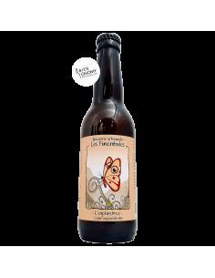 Bière L'Exploratrice Lager au pain de mie 33 cl Micro Brasserie Les Funambules
