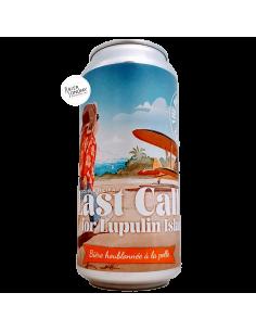 Bière Last Call For Lupulin Island Double NEIPA 44 cl Brasserie Piggy Brewing
