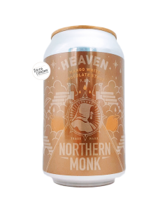 Bière Heaven Mango White Chocolate Stout 33 cl Brasserie Northern Monk