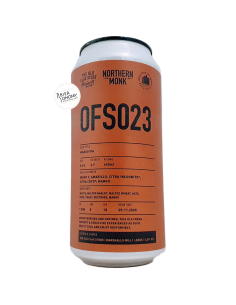 Bière OFS023 Mango Double IPA 44 cl Brasserie Northern Monk
