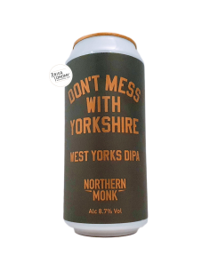 Bière Don't Mess With Yorkshire West Yorks DIPA 44 cl Brasserie Northern Monk